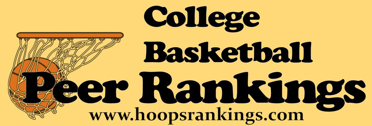 College Basketball Peer Rankings